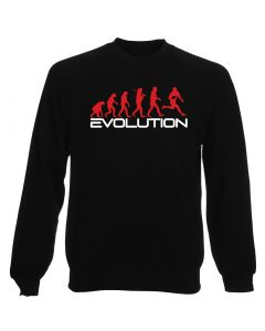 Felpa Girocollo Uomo Nera WES1124 EVOLUTION OF RUGBY