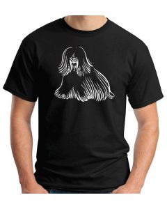 T-shirt Uomo Nero WES0634 111 OLD ENGLISH SHEEPDOG DOG