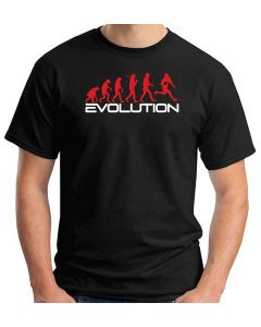 T-shirt Uomo Nero WES1124 EVOLUTION OF RUGBY