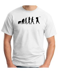 T-shirt Uomo Bianco OLDENG00068 EVOLUTION OF GOLF