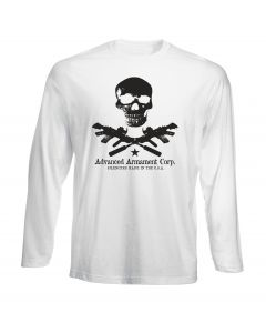 T-shirt manica lunga Uomo Bianca TM0364 advanced-armament-corp usa