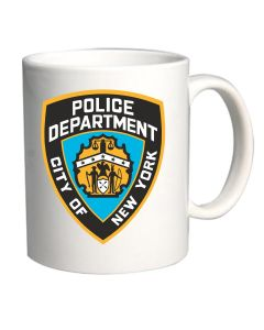 Tazza 11oz Bianca TM0214 New York City Police Department flag