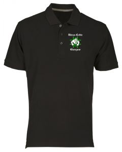 Polo Uomo Nero TR0142 ultras celtic green brigade t-shirt