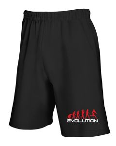 Pantaloncini Tuta Nero WES1124 EVOLUTION OF RUGBY