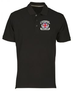 Polo Uomo Nero TSTEM0183 liverpool england fitted da